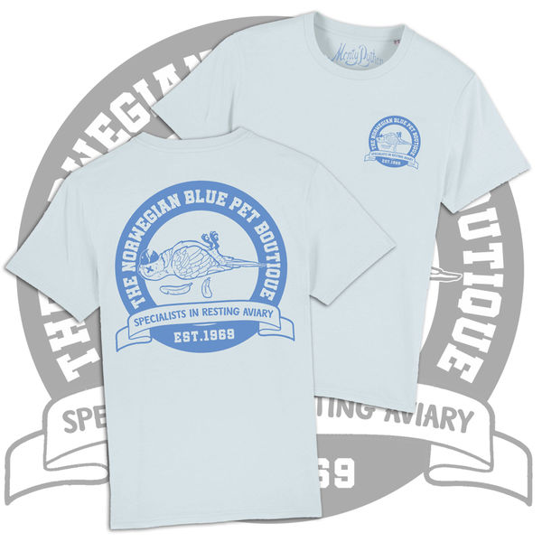 Monty Python: The Norwegian Blue Pet Boutique (Dead Parrot) T-Shirt