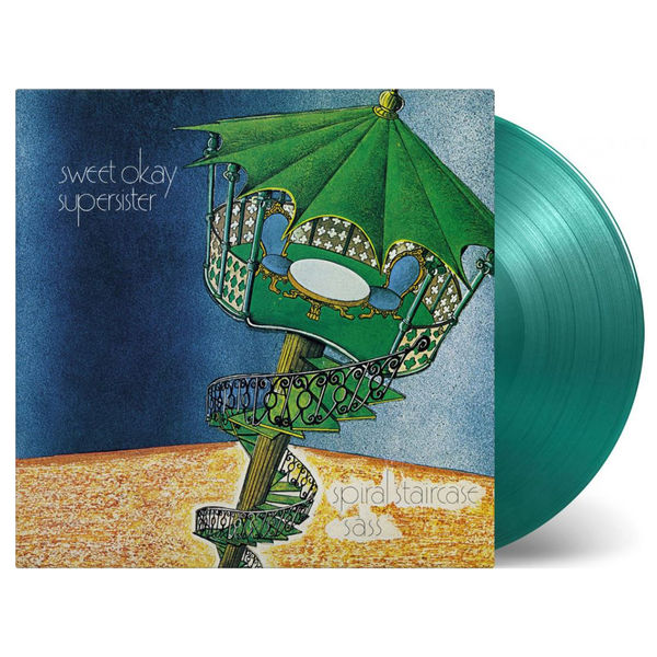 Supersister: Spiral Staircase Green Coloured Vinyl