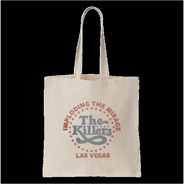 The Killers: ITM Star Logo Tote Bag (Cream)