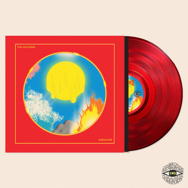The Muckers : Endeavor: Limited Edition Red Vinyl