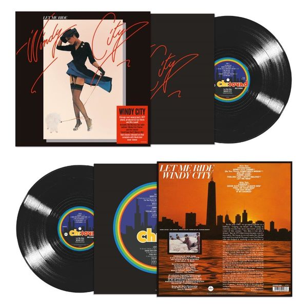 Windy City: Let Me Ride (140g Black Vinyl)