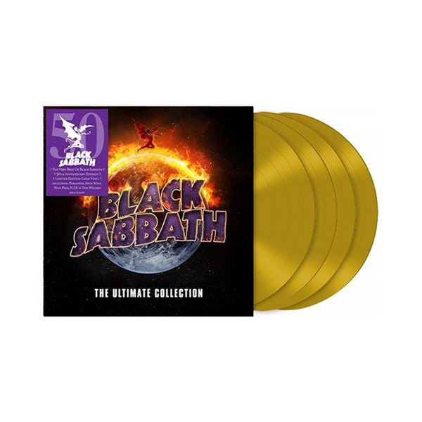 Black Sabbath: The Ultimate Collection: Limited Edition Gold Vinyl Box Set
