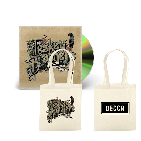 The Teskey Brothers: Run Home Slow CD & Tote bag