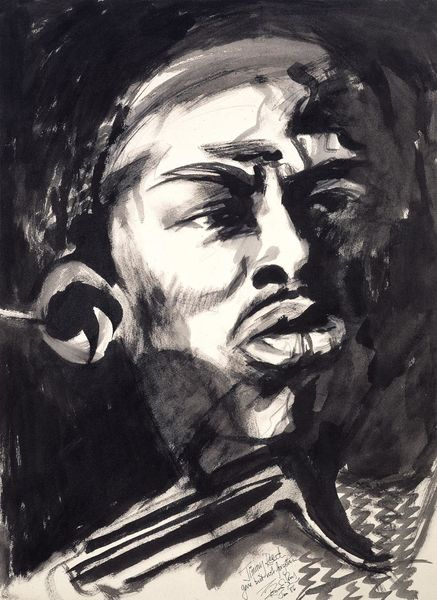 Ronnie Wood: Jimmy Reed Art Print