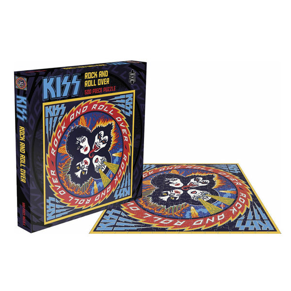 Kiss: Rock & Roll Over: 500 Piece Jigsaw Puzzle