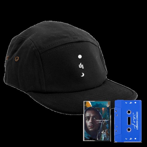 Dermot Kennedy: Limited Edition: Without Fear Black 5-Panel Cap + Blue Cassette