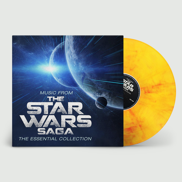 Robert Ziegler: Music From The Star Wars Saga (OST) - The Essential Collection: Limited Edition Flaming Vinyl