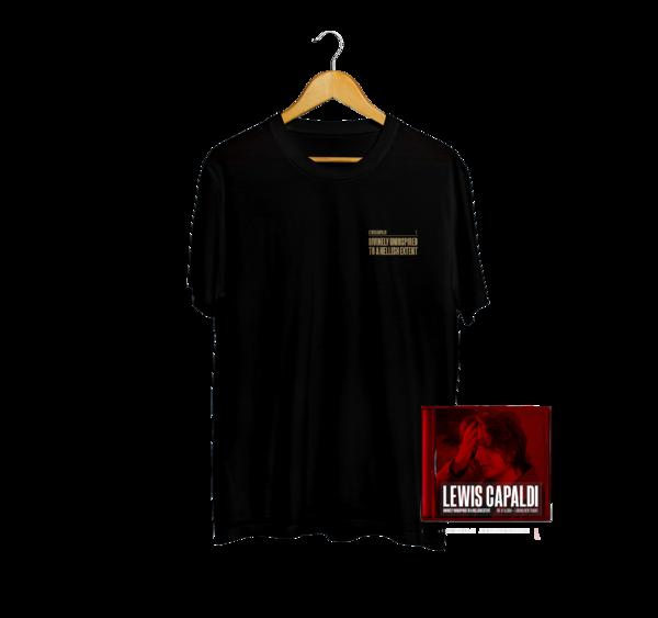 Lewis Capaldi: Exclusive DUTAHE Anniversary T-Shirt + CD