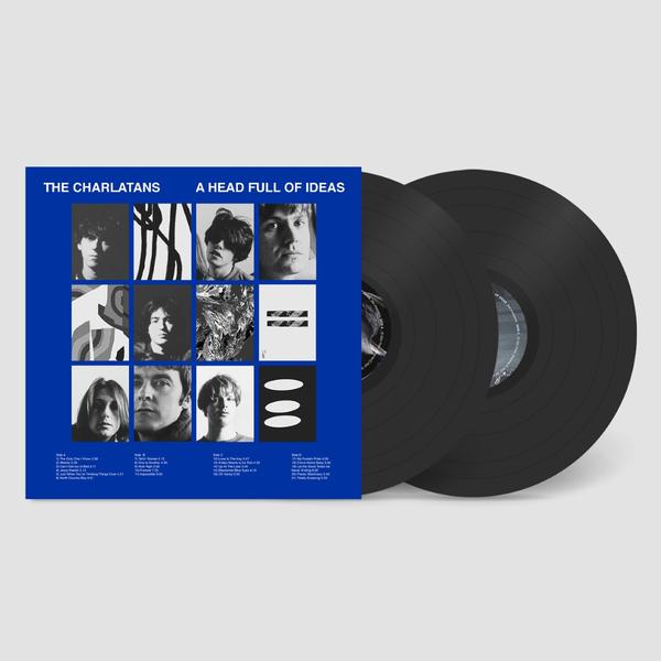 The Charlatans: A Head Full Of Ideas: Double Vinyl 2LP