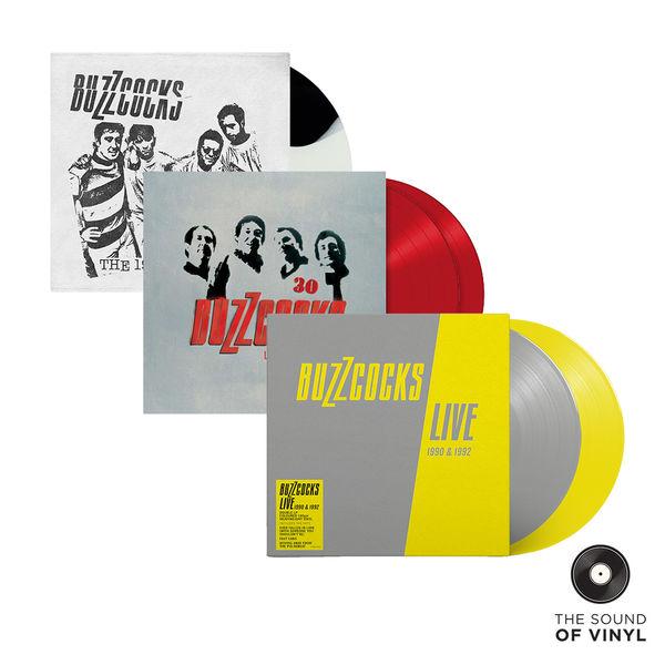 Buzzcocks: The Sound Of... Buzzcocks: Deluxe Colour Vinyl Exclusive Bundle
