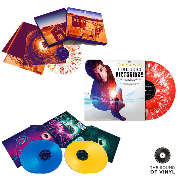 Various Artists: The Sound Of... Doctor Who: Deluxe Colour Vinyl Box Sets Bundle