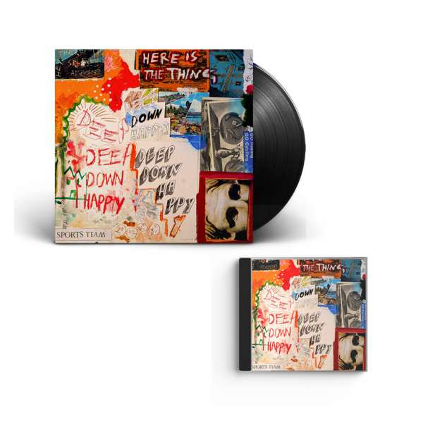 Sports Team: Deep Down Happy: Vinyl + CD
