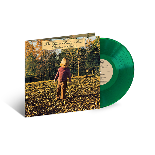 The Allman Brothers Band: Brothers And Sisters: Exclusive Translucent Green Vinyl LP