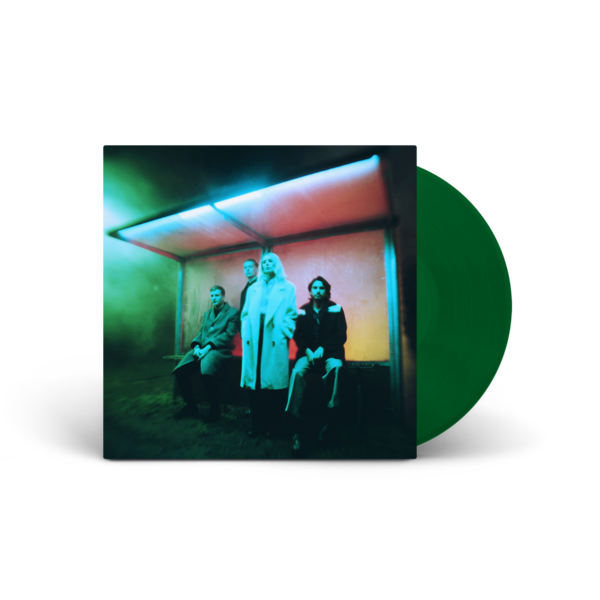 Wolf Alice: Blue Weekend Transparent Green Vinyl - WolfAlice.co.uk Exclusive