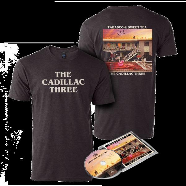 The Cadillac Three: TABASCO AND SWEET TEA: CD + T-SHIRT