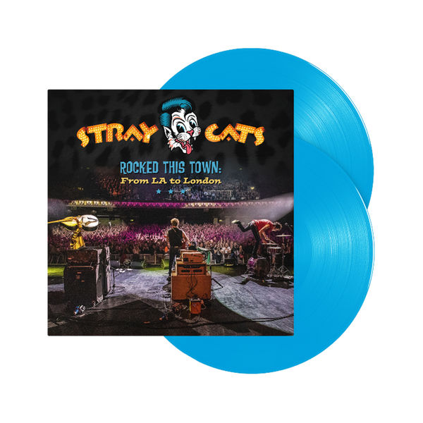 Stray Cats: Rocked This Town: From LA to London Blue Vinyl
