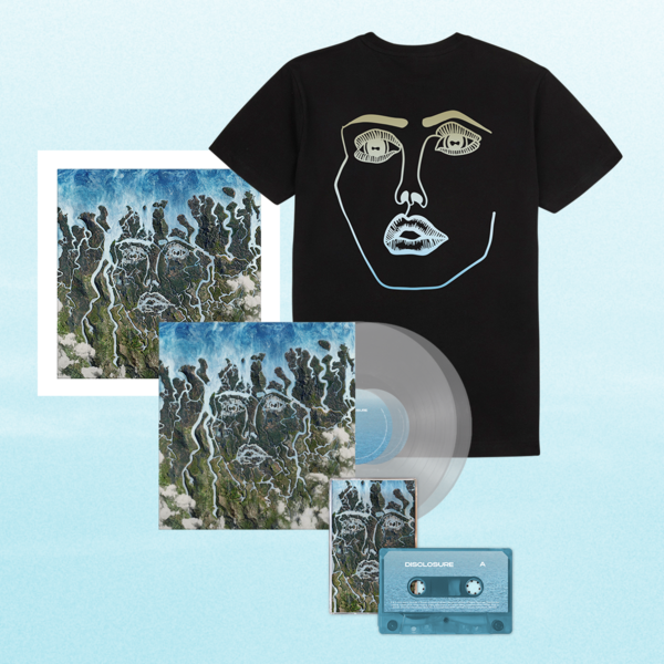 Disclosure: Exclusive Clear LP, Signed Art Card, Cassette + Energy Face Tee