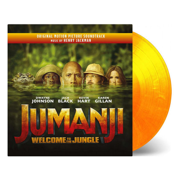 Henry Jackman: Jumanji: Welcome To The Jungle Original Soundtrack (Coloured Vinyl)