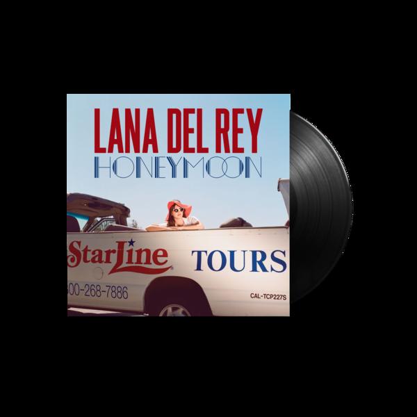 Lana Del Rey: Honeymoon Black LP
