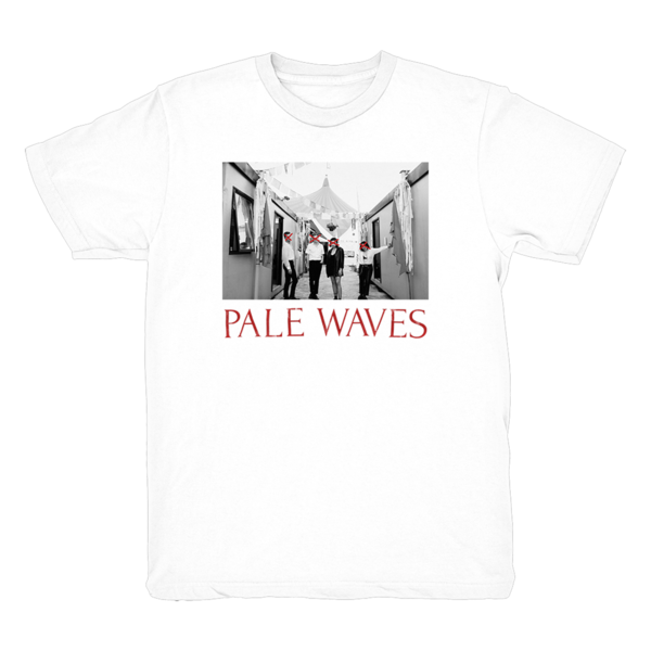 Pale Waves: White Band Photo Tee