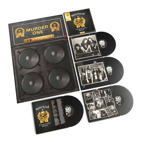 Motörhead: Everything Louder Forever - The Very Best Of: 4LP Deluxe Edition