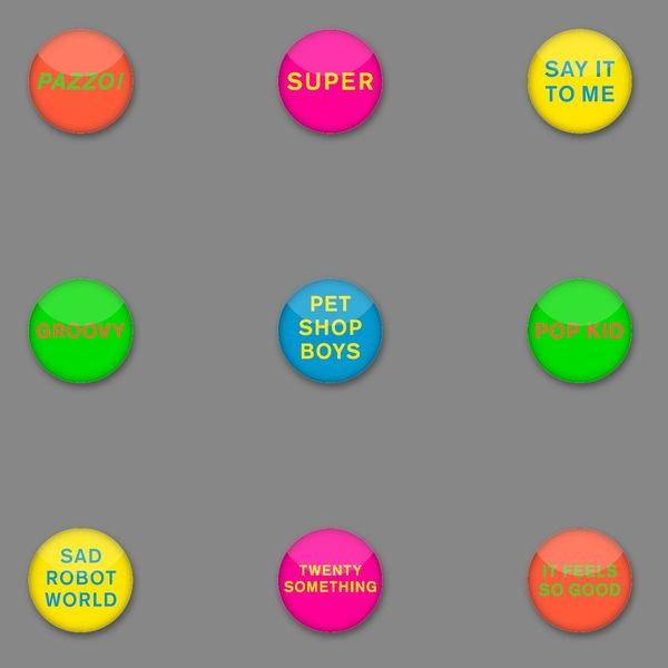 Pet Shop Boys: SUPER Badge Set