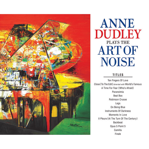 Anne Dudley: Anne Dudley 'Plays The Art Of Noise' Signed LP