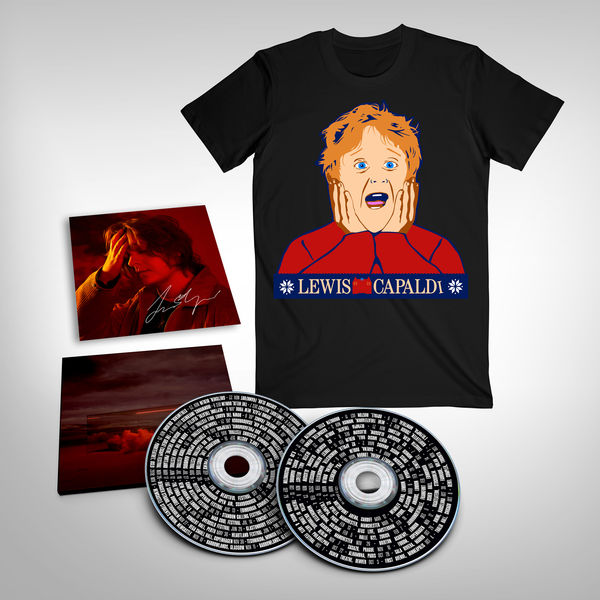 Lewis Capaldi: Divinely Uninspired To A Hellish Extent: Finale (2CD) with Signed Art + Tee