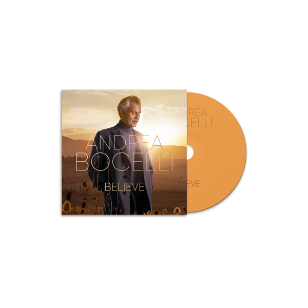 Andrea Bocelli: Believe CD