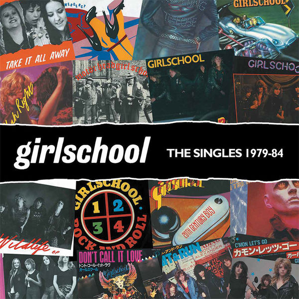 Girlschool: The Singles 1979-1984: Orange Vinyl