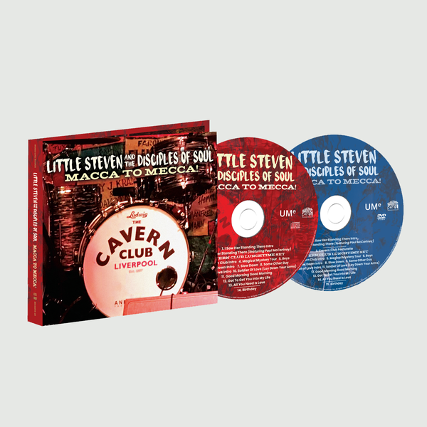 Little Steven: Macca To Mecca! CD/DVD Set