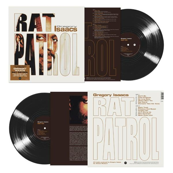 Gregory Isaacs: Rat Patrol (140g Black Vinyl)