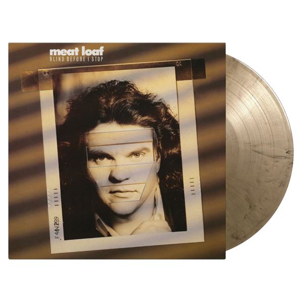 Meat Loaf: Blind Before I Stop: Limited Edition Gold + Black Marble Vinyl LP