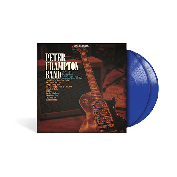 Peter Frampton Band: All Blues: Exclusive Translucent Blue Coloured Vinyl