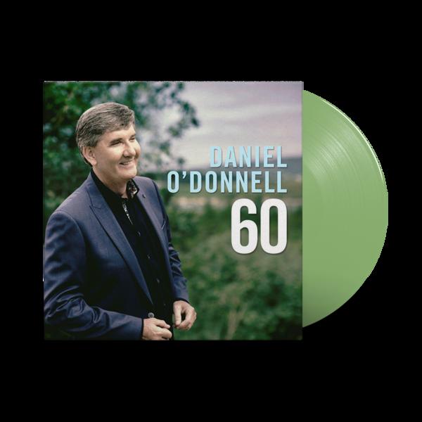 Daniel O'Donnell: 60: Translucent Green Vinyl LP