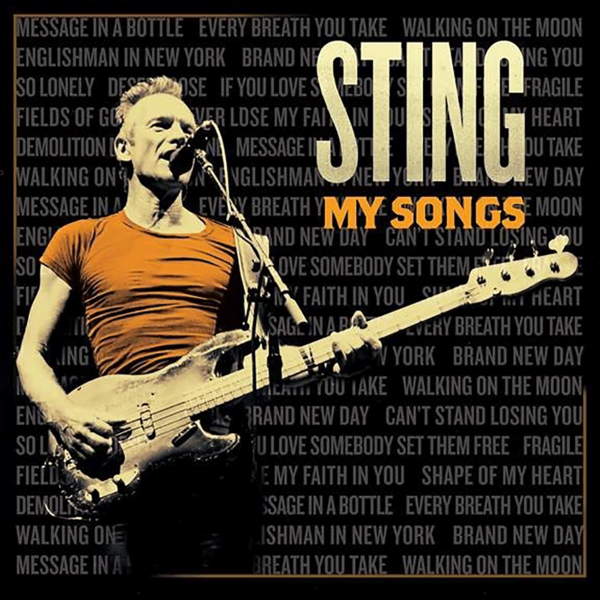 Sting: My Songs Deluxe CD