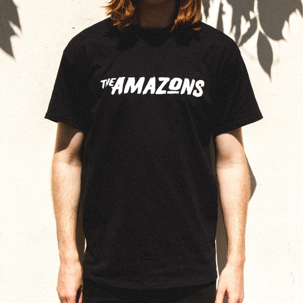 The Amazons: The Amazons Black T-shirt