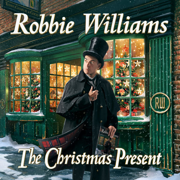 Robbie Williams: The Christmas Present: Deluxe Hardback Double CD Book