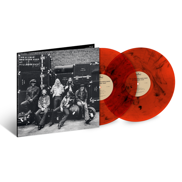 The Allman Brothers Band: At Fillmore East: Exclusive Red and Black Marbled Double Vinyl 2LP