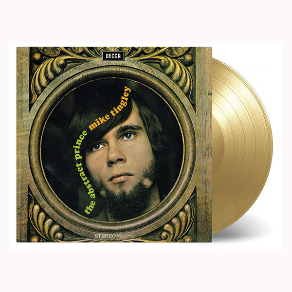 Mike Tingley: Abstract Prince: Limited Edition Gold Vinyl