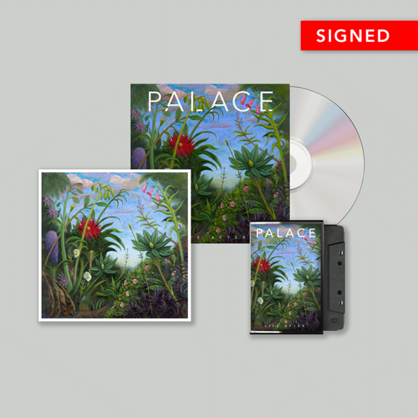 Palace: CD, Cassette and Signed Print