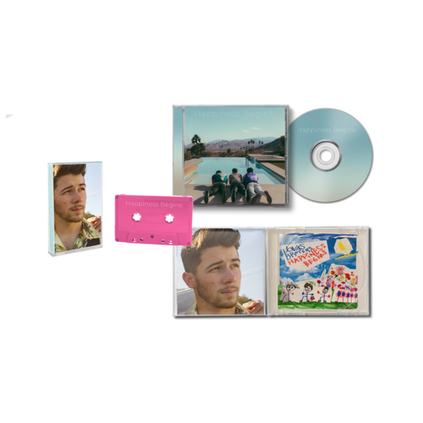 Jonas Brothers: Nick CD + Cassette Bundle