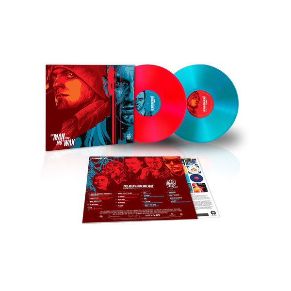 Various Artists: The Man from Mo'Wax (Music From The Motion Picture) Red + Blue Coloured Vinyl