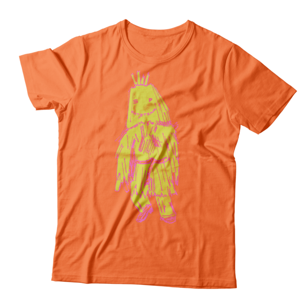 Sports Team: Orange Wickerman Tee