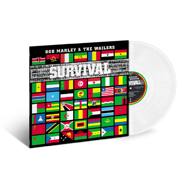Bob Marley and The Wailers: Survival: Exclusive Clear Coloured Vinyl