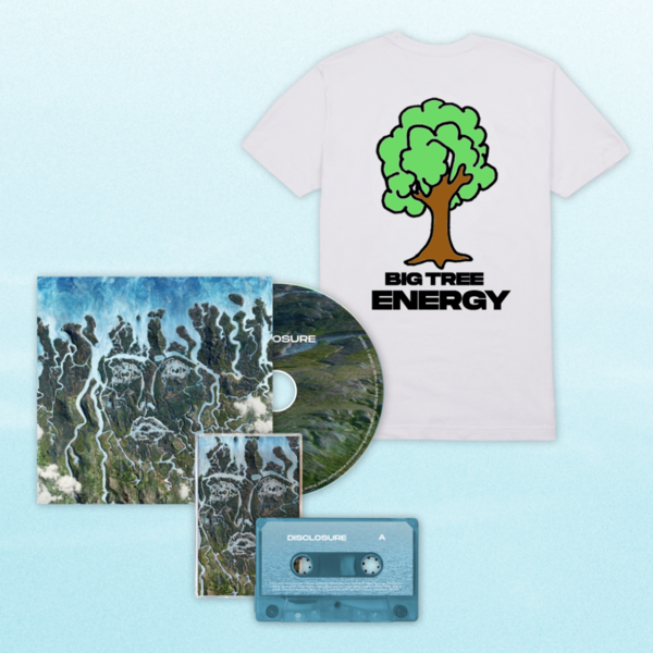 Disclosure: CD, Cassette + Big Tree Energy White Tee