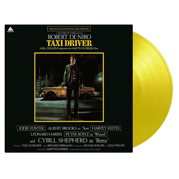 Bernard Hermann: Taxi Driver: Limited Edition Yellow Vinyl