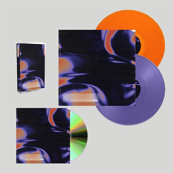 Scarlxrd: IMMXRTALISATIXN: EXCLUSIVE VINYL, SIGNED CD + CASSETTE