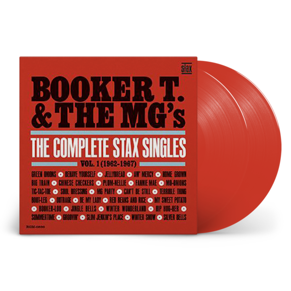 Booker T & The MG's: The Complete Stax Singles Vol. 1 (1962-1967): Limited Edition Red Vinyl 2LP