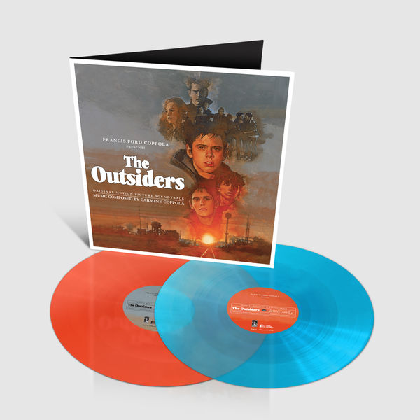 Original Soundtrack: The Outsiders: Limited Edition Sky Blue + Orange Sunset Vinyl